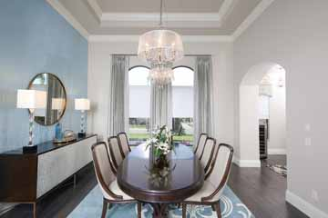 Dinning Room Interior Design in Punta Gorda, FL.