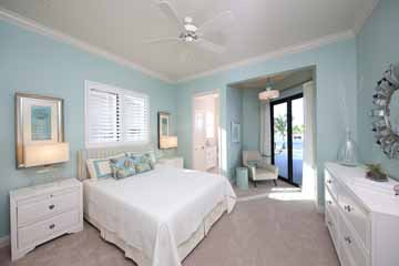 Master Bedroom Interior Design in Punta Gorda, FL.
